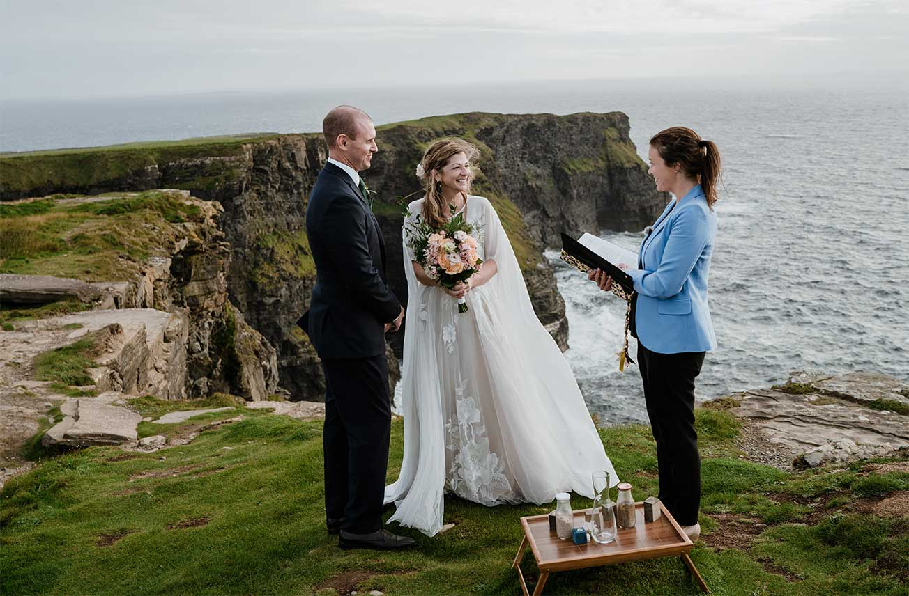 Cliffs of Moher with Coastal Ceremonies