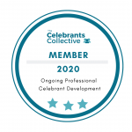 Celebrants Collective member badge 2020