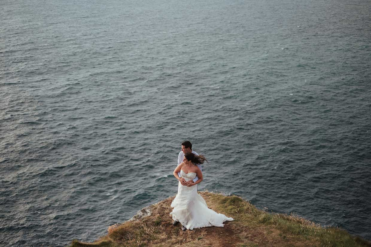 Scenic Photography Wedding Elopement Package with Coastal Ceremonies