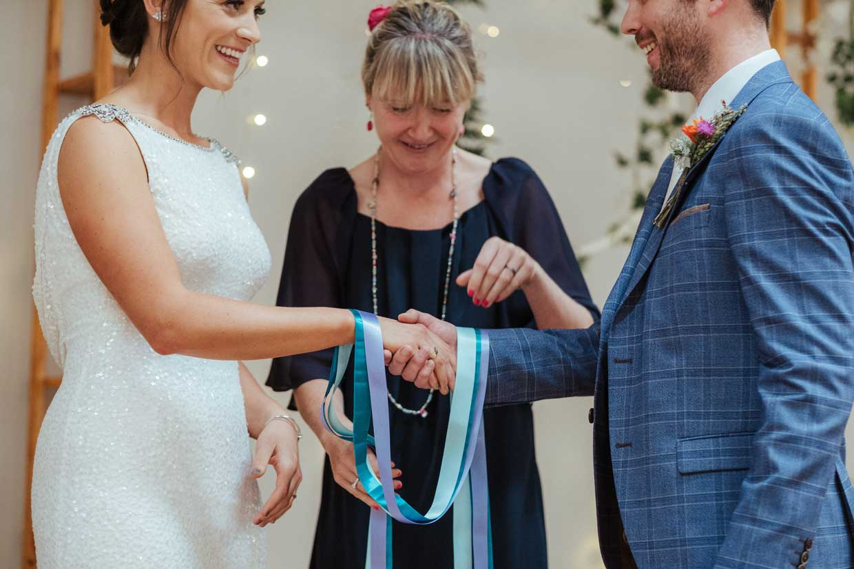 Hand Fasting Ceremony at with Coastal Ceremonies