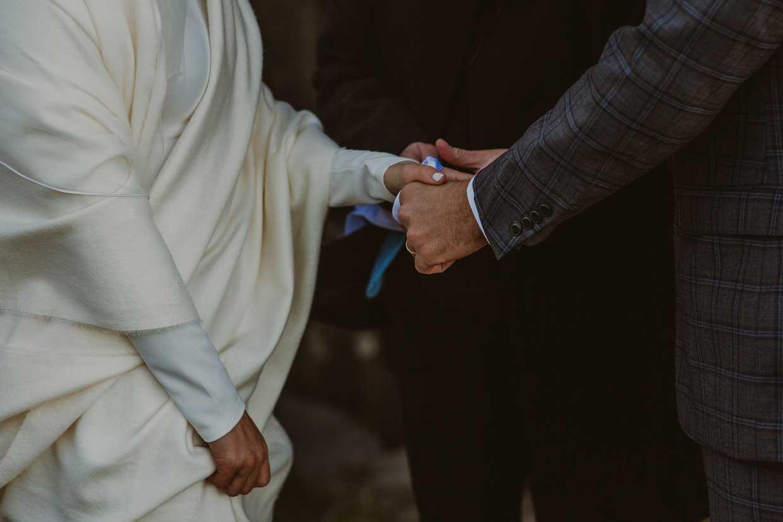 Wedding Handfasting with Coastal Ceremonies