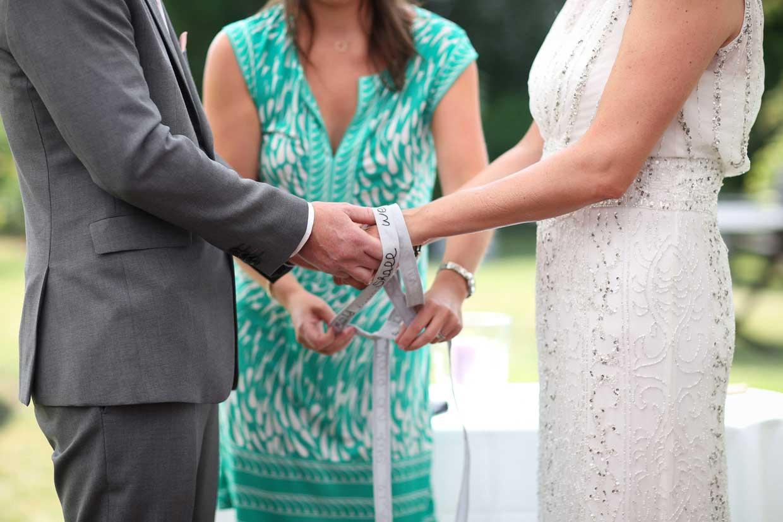 Handfasting Ceremony with Coastal Ceremonies