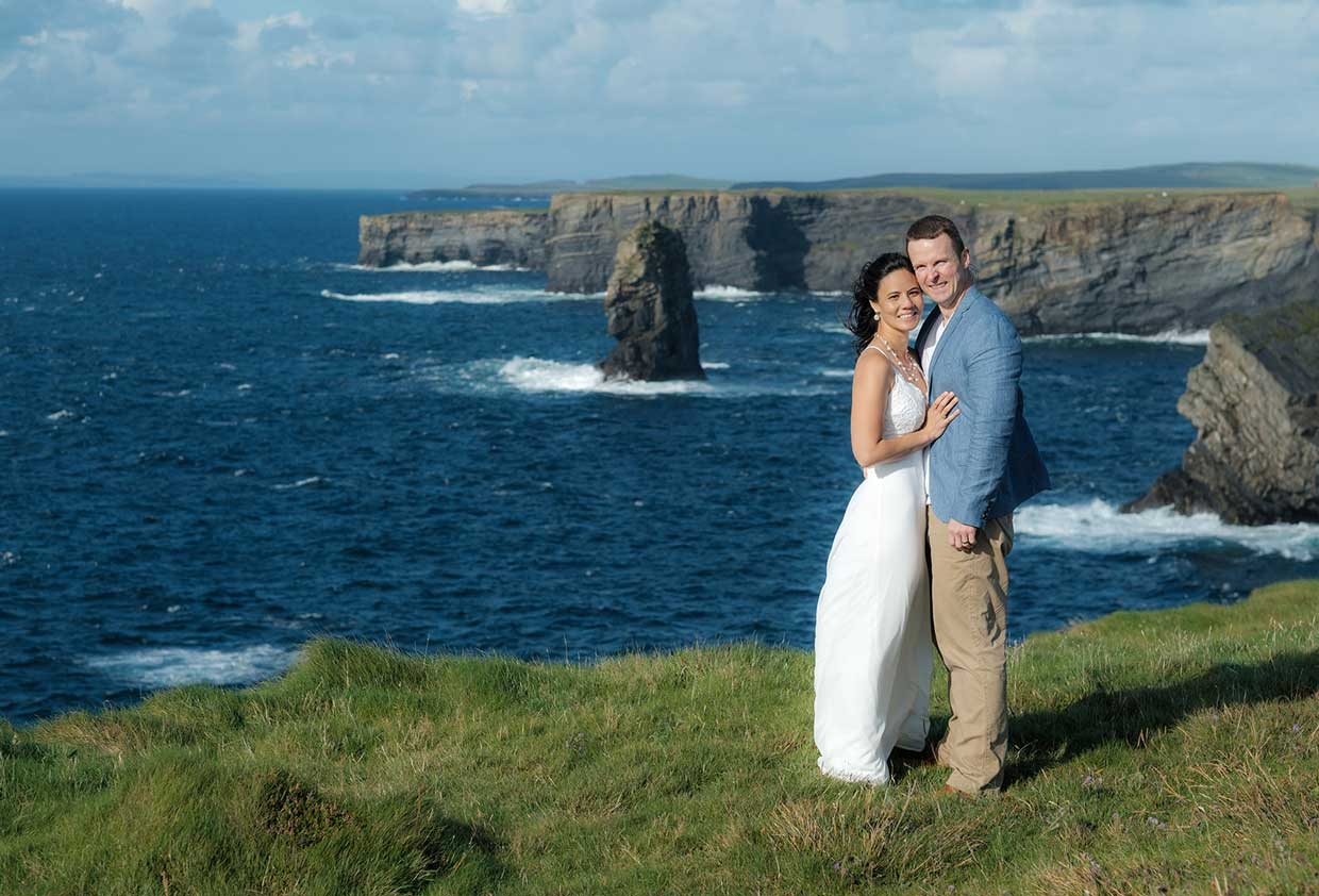 Beautiful Vow Renewal Package at the Cliffs of Moher with Coastal Ceremonies