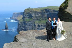 Weddings on the Cliffs of Moher